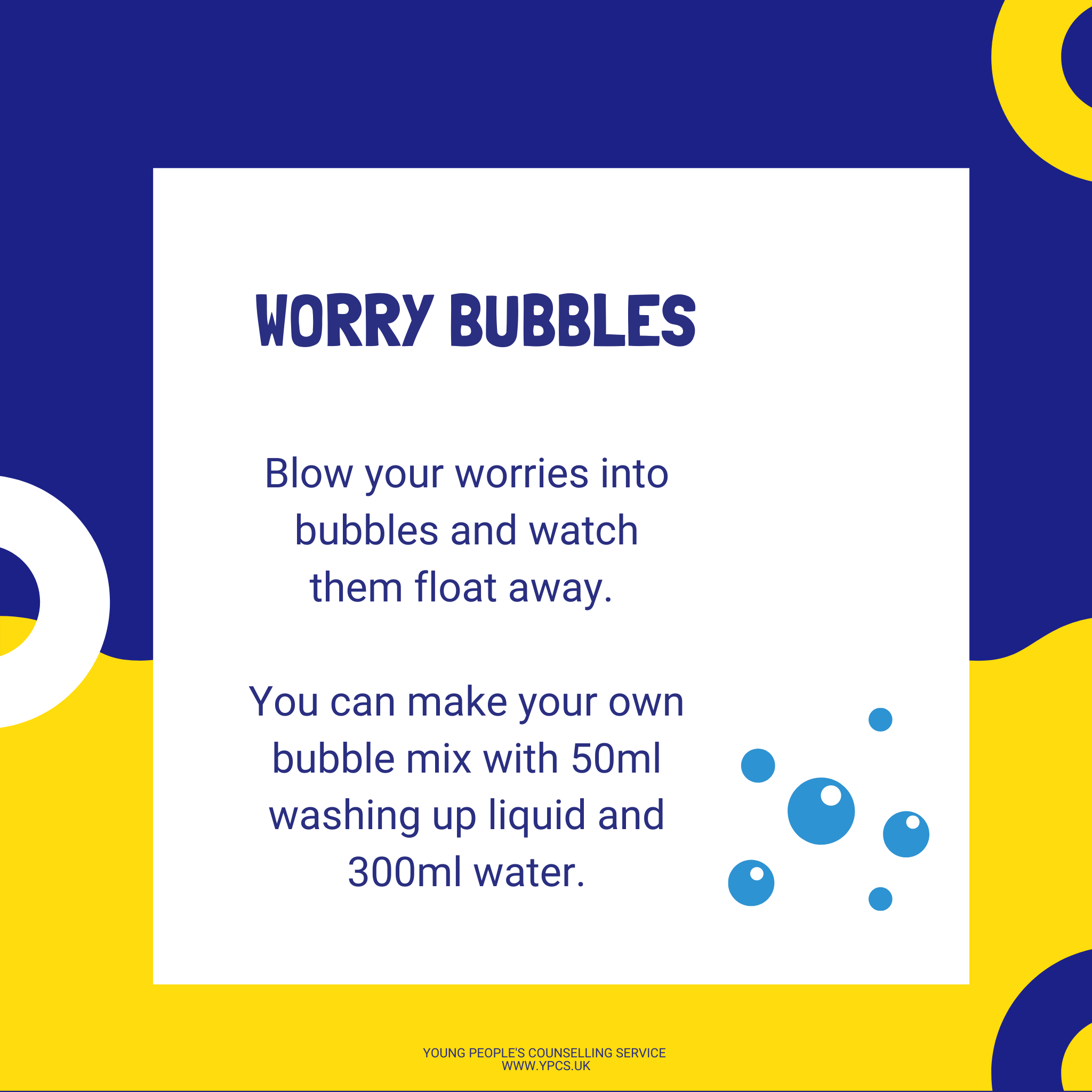 Worry Bubbles