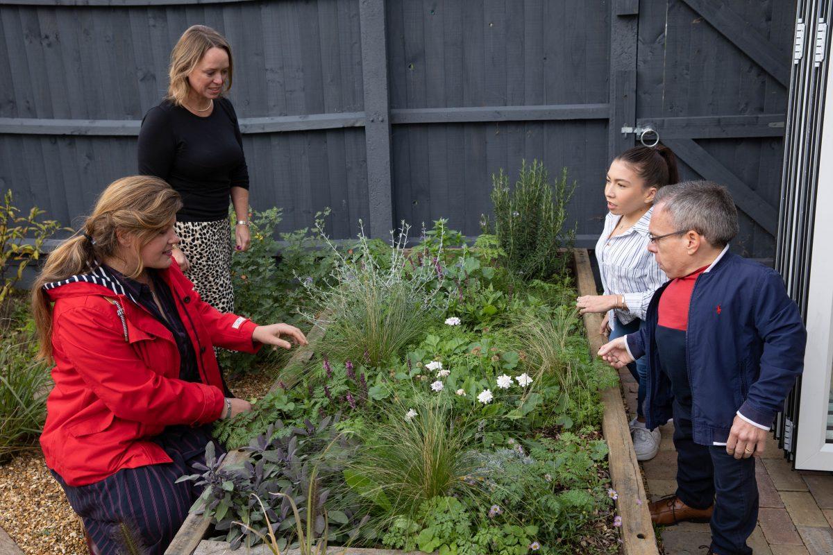 Patrons Meet Garden Designer