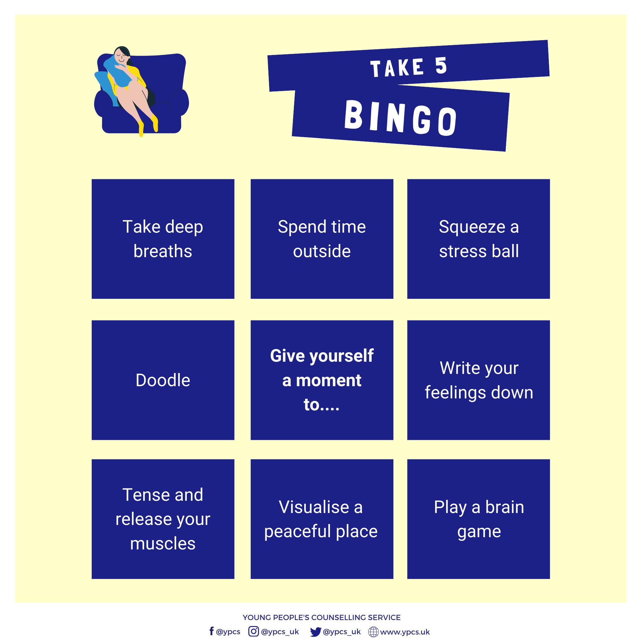 Take 5 Bingo
